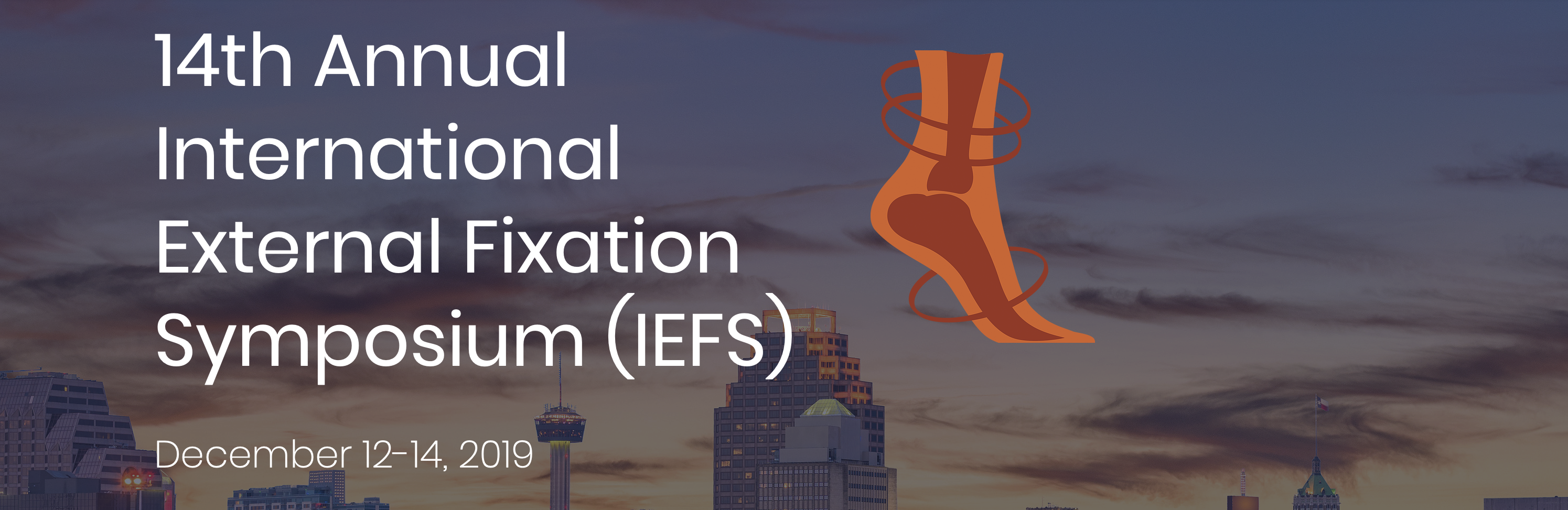 14th Annual International External Fixation Symposium (IEFS)